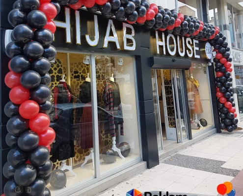 balon süsleme manisa hijab house
