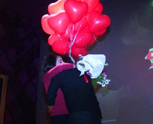 sinemada evlilik teklifi organizasyonu